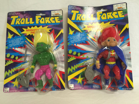 120 Toys N' Things 1993 Troll Force  2 Mighty Heroes NRFSC - Colleen's Attic - 1