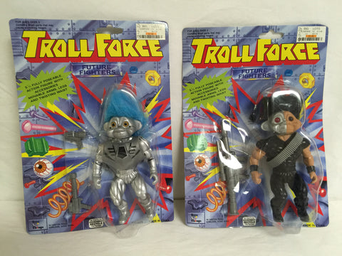 122 Toys N' Things 1993 Troll Force 2 Future Fighters NRFSC - Colleen's Attic - 1