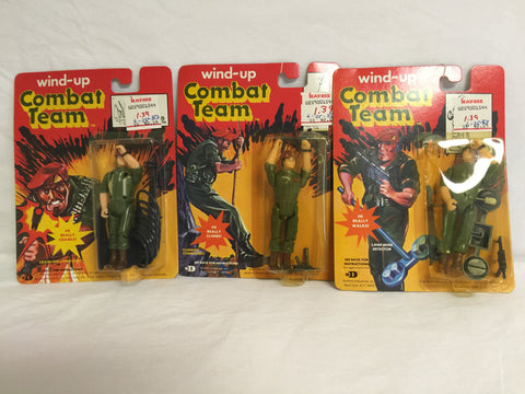 373 Durham Industries Wind Up Combat Team Lot of 3 NRFSC - Colleen's Attic - 1