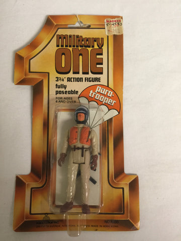374 Porto Play Inc Military One Action Figure para-trooper - Colleen's Attic - 1