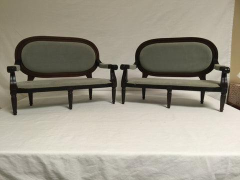 416 Doll Furniture Antique Type Couches Lot of 2 - Colleen's Attic - 1