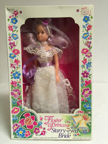 423 Creata 1985 Flower Princess Starry-Eyed Bride ROTPCT - Colleen's Attic - 1