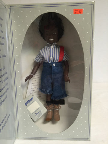 492 Effanbee 1989 The Little Rascals Buckwheat ROTPCT - Colleen's Attic - 1