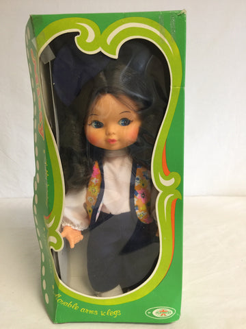 506 Playmates 1977 Missy Brunette Doll NRFB - Colleen's Attic - 1