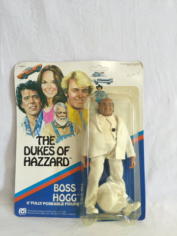 557 Mego 1981 Dukes of Hazzard Boss Hogg NRFSC - Colleen's Attic - 1