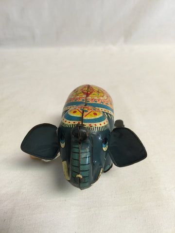601 Wind Up Metal Elephant (Dumbo?) - Colleen's Attic - 1