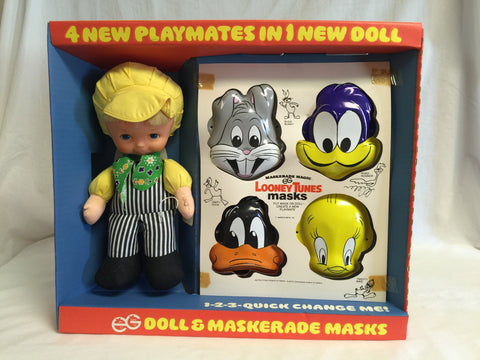 608 EG Maskerade Magic Doll & Masks NRFB - Colleen's Attic - 1