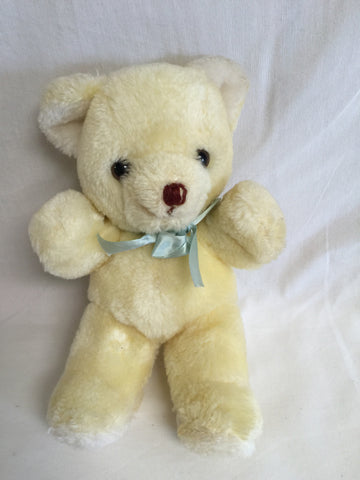 "628 Russ Teddy Bear Cream 9"" Tall - Colleen's Attic - 1"