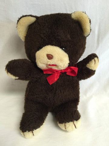 "631 Cuddle Wit Teddy Bear 9"" Tall - Colleen's Attic - 1"