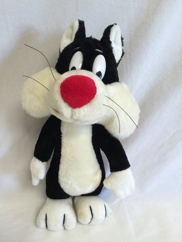 647 24K Company 1993 Warner Bros Sylvester Plush - Colleen's Attic - 1