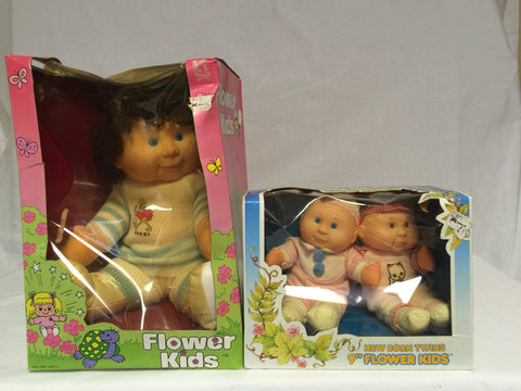 706 Blue Box Flower Kids Lot of 2 NRFB - Colleen's Attic - 1