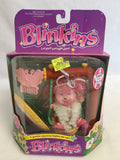 712 LJN 1985 Blinkins Glamorous Flashy And Her Swing NRFB - Colleen's Attic - 1