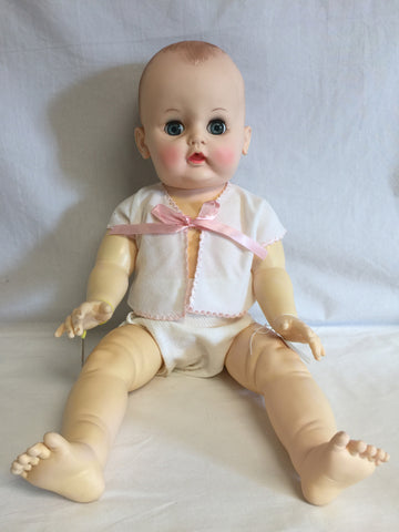 "722 Effanbee Dy-Dee Baby 20"" tall - Colleen's Attic - 1"