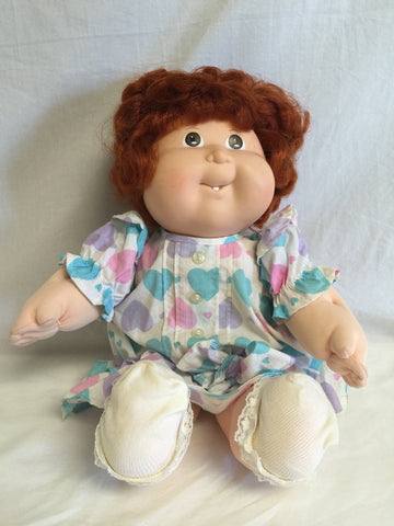 740 Coleco 1988 Cabbage Patch Growing Hair Red Hair no freckles - Colleen's Attic - 1