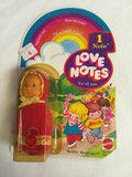 772 Mattel 1979 Love Notes Doll Lot of 4 NRFSC - Colleen's Attic - 2