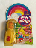 772 Mattel 1979 Love Notes Doll Lot of 4 NRFSC - Colleen's Attic - 6