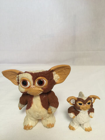 836 LJN 1984 Gremlins Gizmo figure Lot of 2 - Colleen's Attic - 1