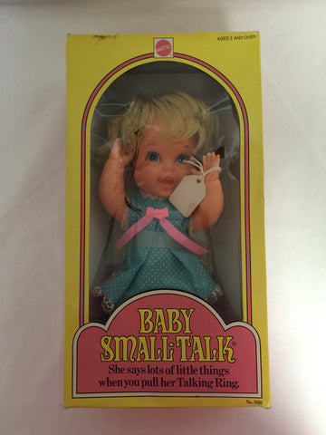 837 Mattel 1975 Baby Small Talk NRFB - Colleen's Attic - 1