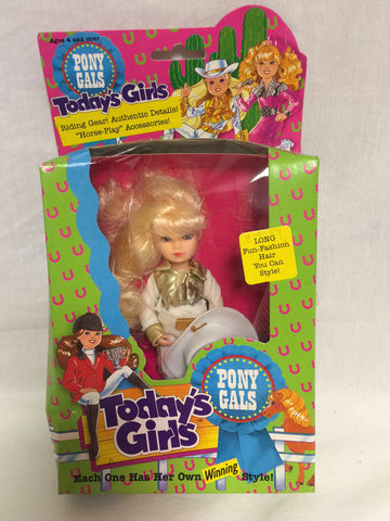 870 Creata 1989 Todays Girls Pony Gals NRFB - Colleen's Attic - 1