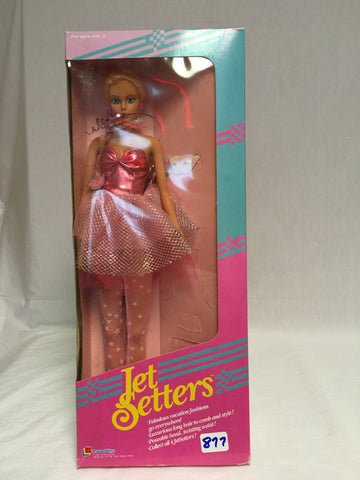 "877 Lanard Toys 1989 Jet Setters 15.5"" tall NRFB - Colleen's Attic - 1"