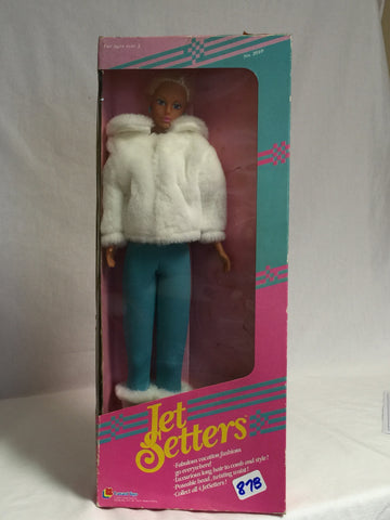 "878 Lanard Toys 1989 Jet Setters 15.5"" tall NRFB - Colleen's Attic - 1"