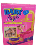046 Galoob 1991 Baby Face Magic Diaper Babies Tub & Shower Set - Colleen's Attic - 1