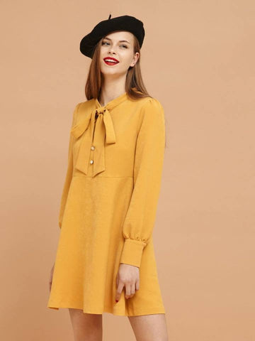 Yellow Brick Road Skater Dress