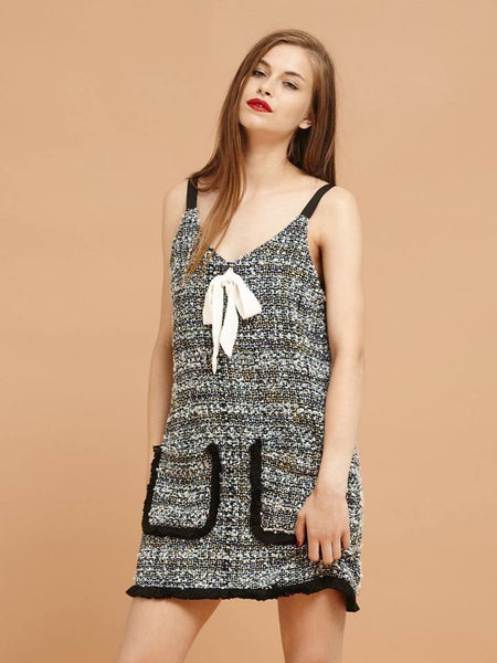Dorothy Slip Tweed Dress