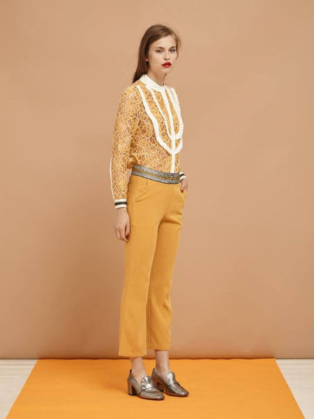 Yellow Brick Road Crop Trousers