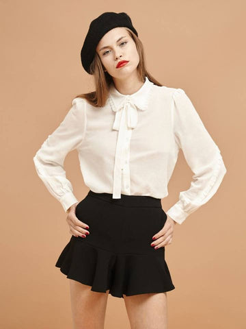 Limelight Bow Blouse