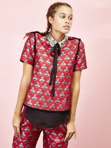 Lovestung Oyster Blouse