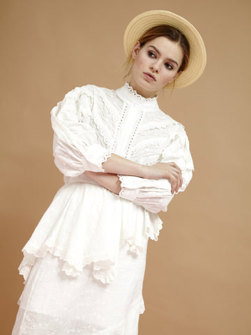 Tenderfoot Lace Blouse