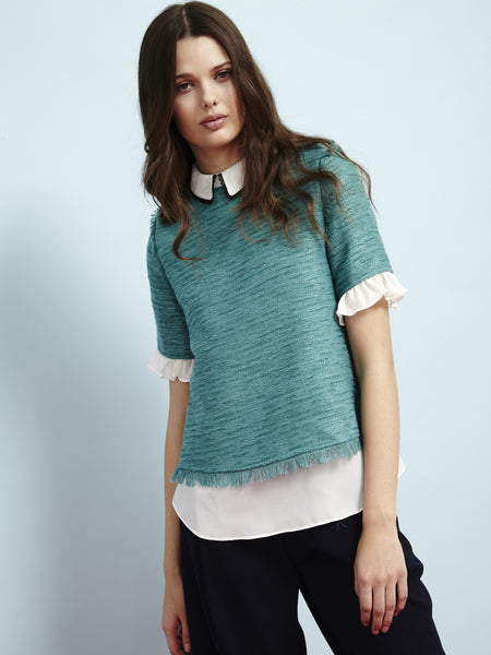 Berlingot Oyster Blouse