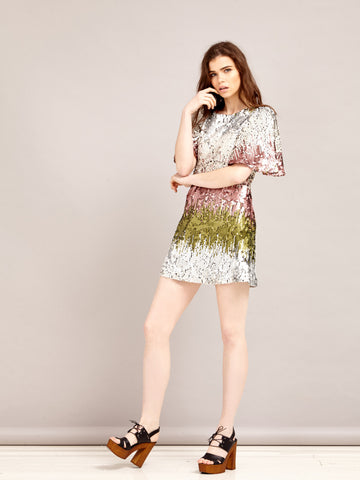 Fresco Sequin Dress