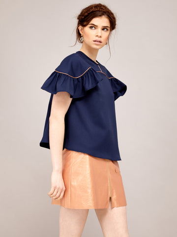 Lapis Shrimpton Top