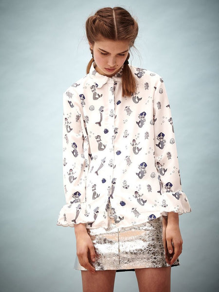 A Seashell Calling Blouse
