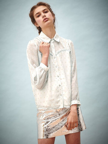 Hang Loose Speckled Blouse