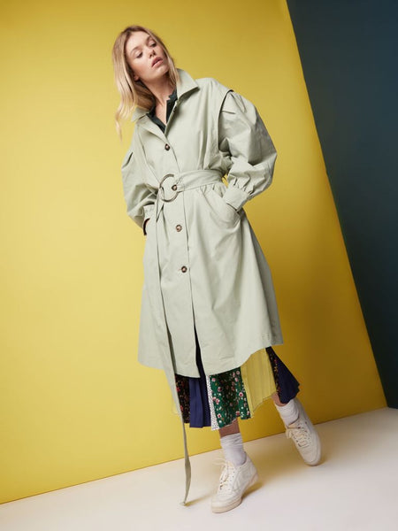 Hang Around Oversized Trench