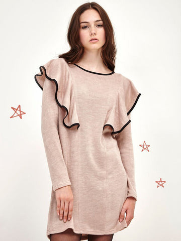 Rose Quartz Knit Dress
