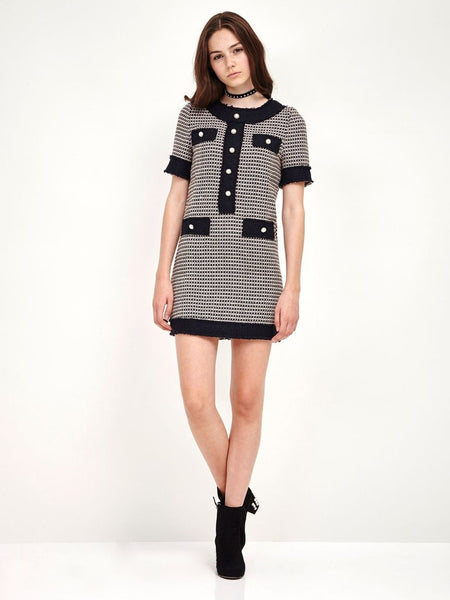 New Romantics Tweed Dress