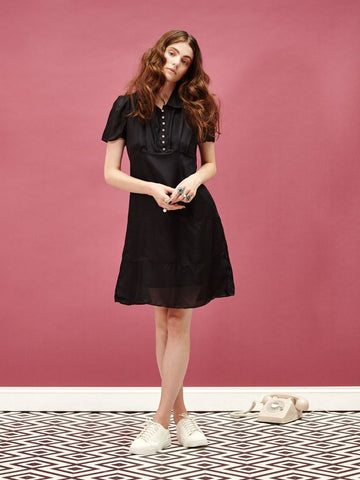 Chat Noir Silk Dress