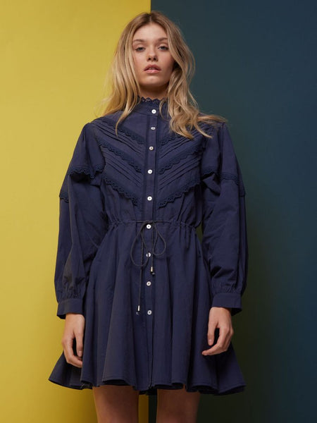 Navygate Drawstring Dress