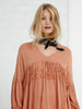 Peach Fringe Top