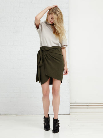 Organic Land Wrap Skirt