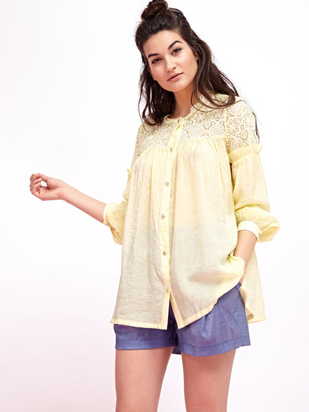 Sorbet Lace Blouse