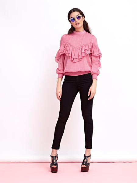 Heatwave Ruffle Top