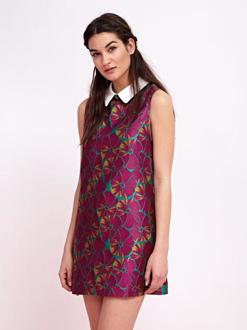 Flowerchild Jacquard Dress