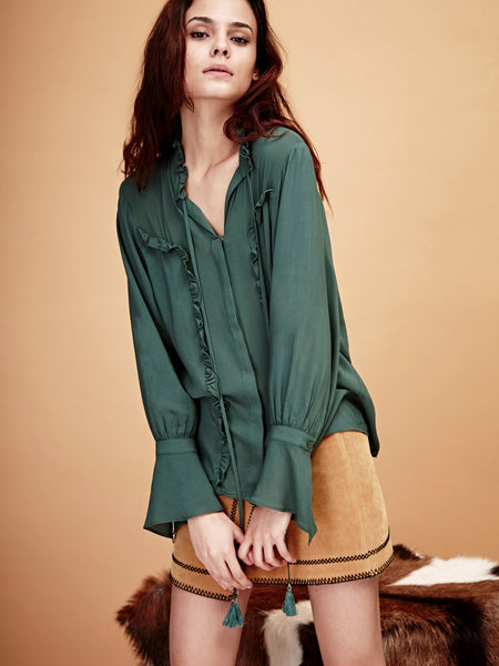 Emerald Pools Blouse