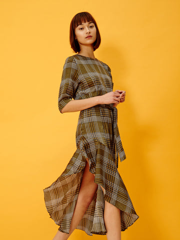 Diagonal Dress