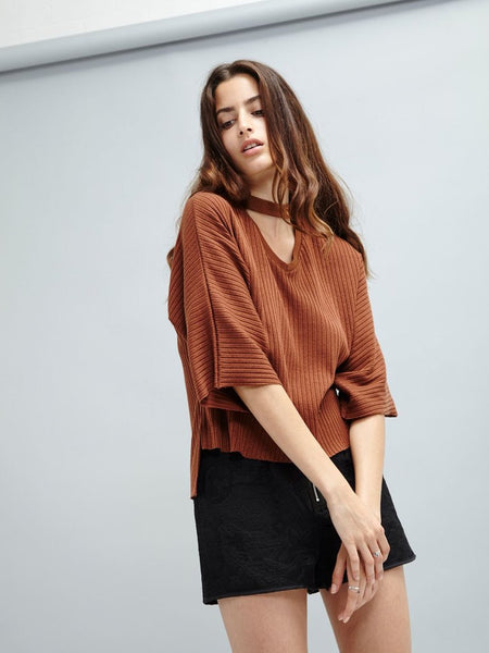 Winter Spice Knit Top